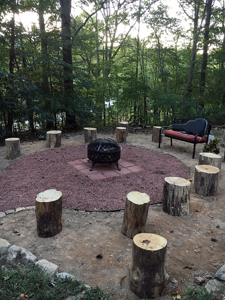 Firepit for Friendship